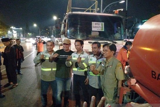 Gubernur Kalsel kirim bantuan untuk kebakaran hutan di Kalteng