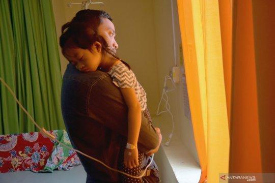 Nasib anak-anak korban jerubu karhutla, ketika udara sudah berbahaya