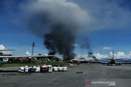 Papua Terkini - Operasional Bandara Wamena dihentikan, ini penyebabnya