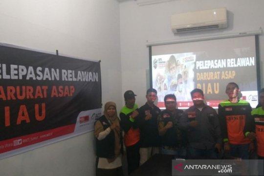 10 relawan ACT Sumut dikirimkan ke Riau