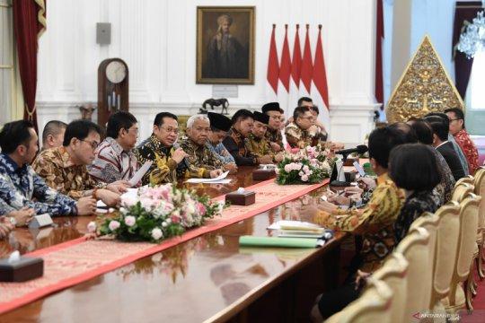 DPR tunda empat RUU yang diminta Presiden