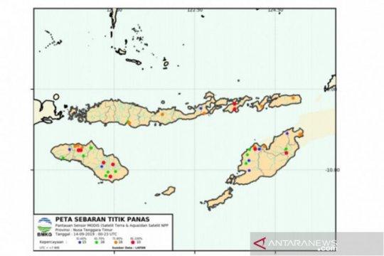 BMKG sebut 16 titik panas di Kabupaten Kupang