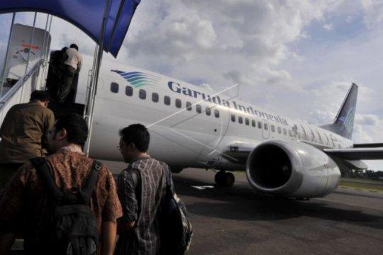 Garuda berikan kompensasi penumpang akibat keterlambatan pesawat