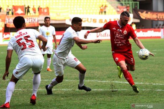 Laga Persija Jakarta kontra Borneo FC ditunda