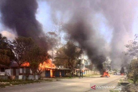 Polisi dalami indikasi keterkaitan massa di Wamena dan Abepura