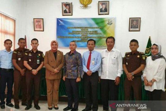 PDAM Tirtanadi gandeng Kejari Belawan kerjasama bantuan hukum