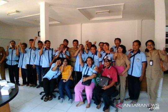Penyandang disabilitas dilatih bahasa Inggris di Bali