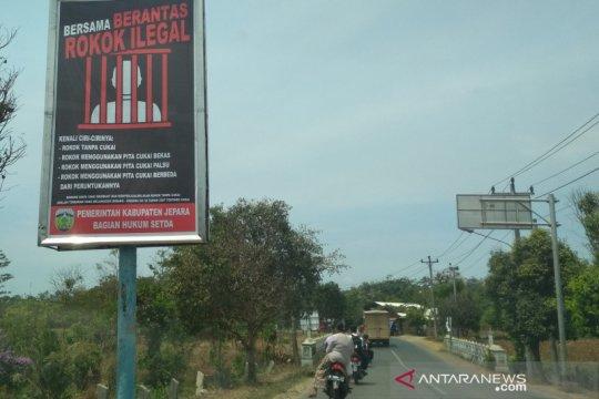 84,21 persen pelanggaran cukai rokok berasal dari Kabupaten Jepara