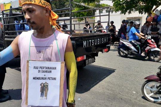 Mahasiswa di Ternate tolak RUU Pertanahan
