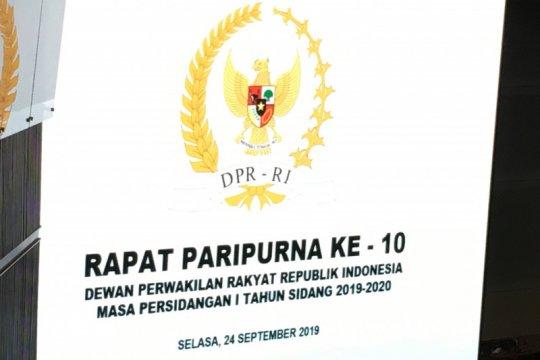 Rapat paripurna DPR tunda RUU Pemasyarakatan menjadi UU