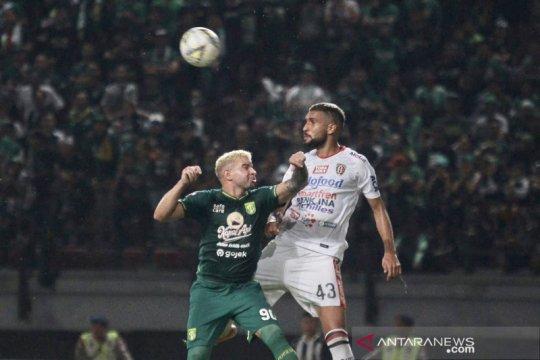 Pelatih Bali United akui tak mudah curi poin di Surabaya