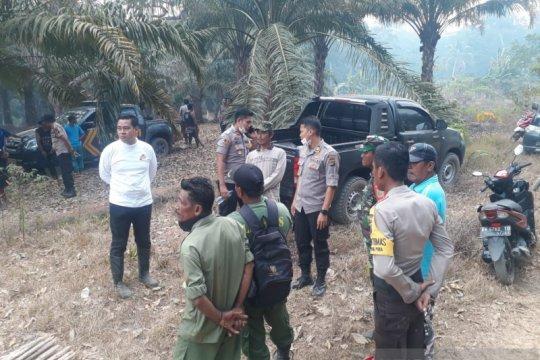Polisi selidiki terbakarnya Hutan Lindung Tanjung Pura Bangka Tengah
