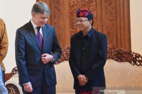 Bali-Inggris jajaki peluang kerja sama energi bersih