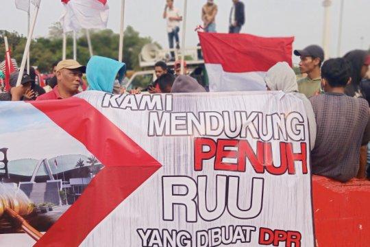 Polisi imbau demonstran pro revisi UU KPK tidak ke DPR