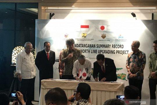 Indonesia-Jepang teken kesepakatan teknis KA Jakarta-Surabaya