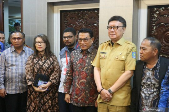 Moeldoko: Pertemuan dengan ULMWP dan KNPB butuh persiapan khusus