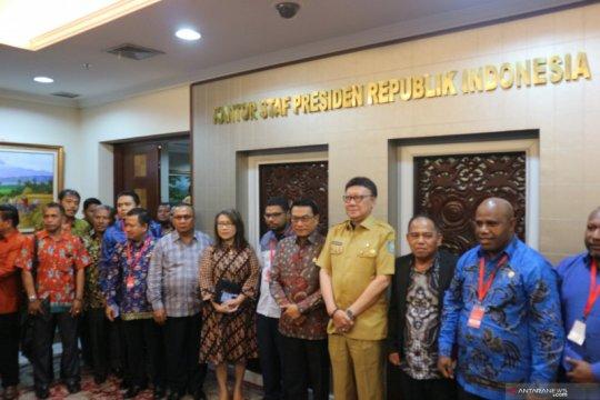 DPRD Papua-Papua Barat sampaikan delapan permintaan ke Presiden Jokowi