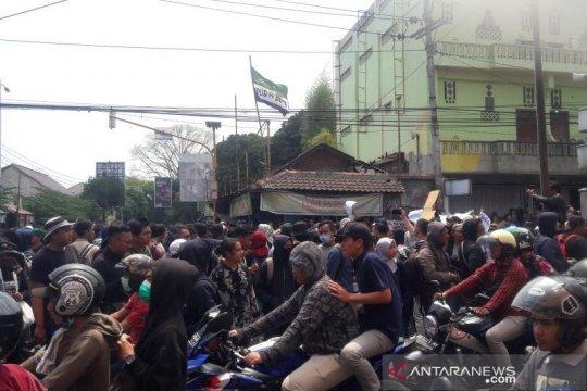 Kapolda DIY sebut unjuk rasa mahasiswa di Yogyakarta berlangsung damai