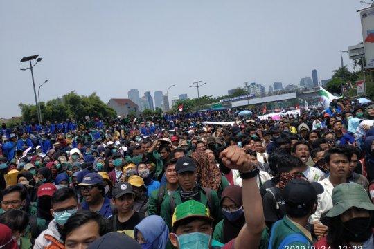 Kesbangpol DKI: Demo tidak dilarang asal fasilitas umum dijaga
