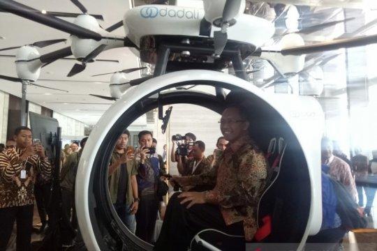Drone untuk pengangkut manusia diluncurkan LAPAN