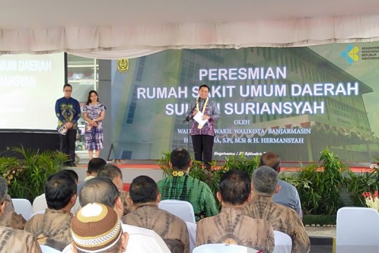 RS Sultan Suriansyah diresmikan dengan akses jalur sungai