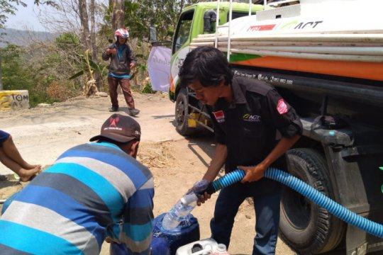 ACT DIY tuntaskan pendistribusian 1 juta liter air besih