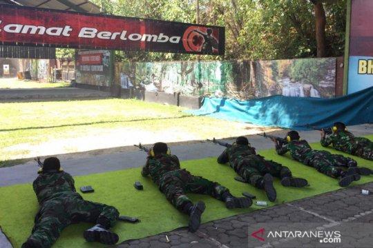 Lanud I Gusti Ngurah Rai tingkatkan kemampuan menembak prajurit