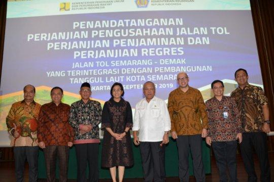 PT PP tandatangani PPJT Tol Semarang-Demak