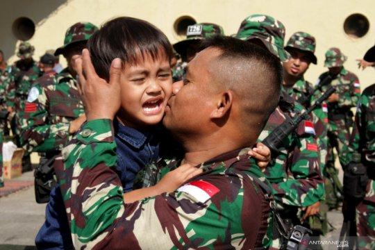 Pemberangkatan pasukan TNI untuk misi pemeliharaan perdamaian di Lebanon