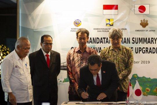 Kerjasama proyek kereta cepat Jakarta - Surabaya