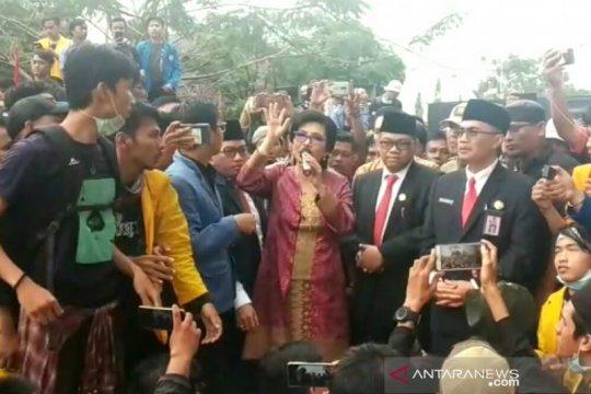 Ketua DPRD Sumsel yakinkan aspirasi mahasiswa disampaikan ke pusat