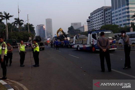 Polisi siapkan rekayasa lalu lintas saat demo tolak RKUHP