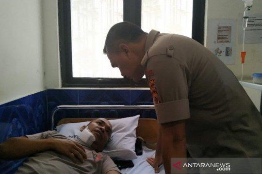 Kapolda Papua besuk anggota Brimob yang cedera dalam demo