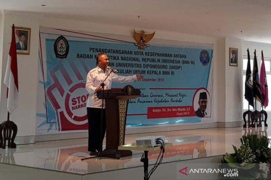 BNN: Prevalensi penyalahgunaan narkotika di Jateng menurun