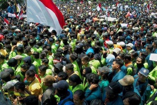 Unjuk rasa mahasiswa tolak UU KPK hasil revisi dan RUU KUHP Page 4 Small