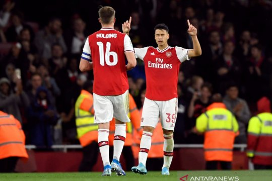 Arsenal pesta lima gol ke gawang Nottingham Forest