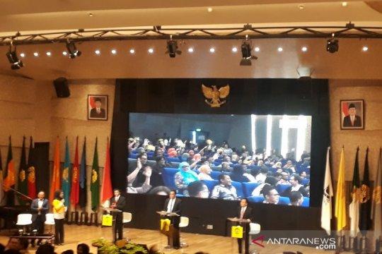 Debat calon rektor UI dihadiri dua menteri