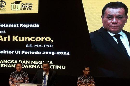 Ari Kuncoro terpilih menjadi Rektor UI 2019-2024