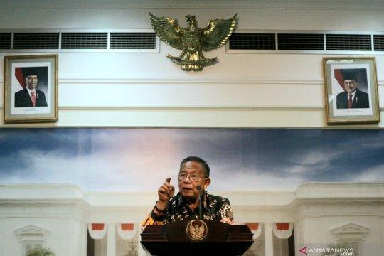 Darmin Nasution ditunjuk sebagai Plt Menko PMK
