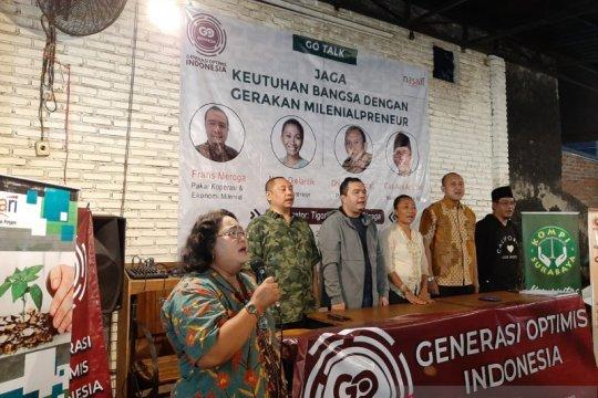 Generasi Optimis Indonesia usulkan menteri milenial ke Jokowi
