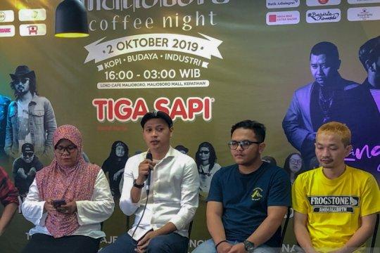 Malioboro Coffee Night ketiga digelar bertepatan dengan Hari Batik