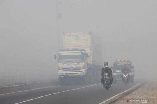 Dampak kabut asap Karhutla
