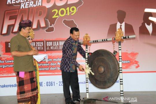 Pemprov Bali tawarkan 5.087 lowongan dalam bursa kerja