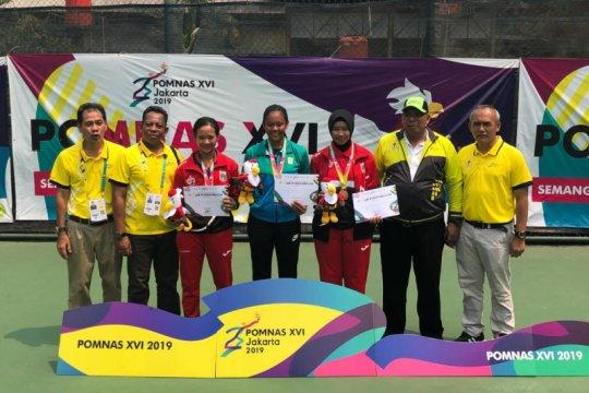 Novela Rezha dari Yogyakarta raih emas tenis tunggal putri Pomnas 2019