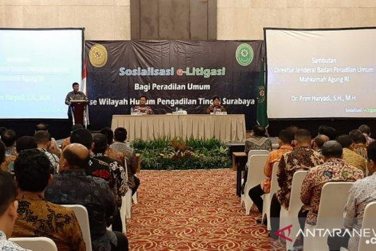 """Pengadilan Tinggi Surabaya sosialisasi """"E-Litigasi"""""""