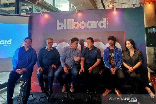 Indonesia miliki tangga lagu resmi mingguan