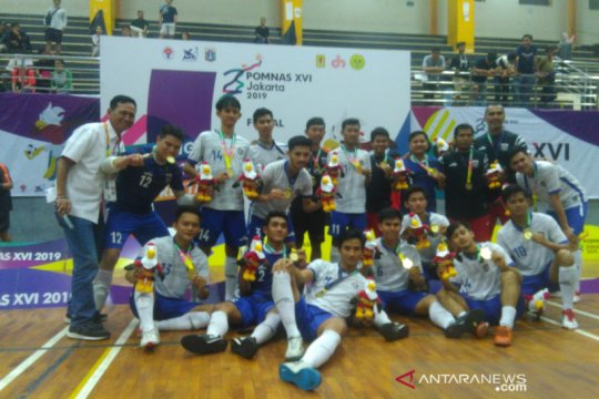 DKI Jakarta rebut emas futsal putra
