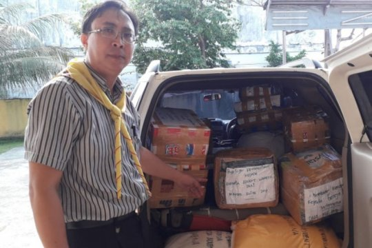 Papua kini, Gereja Advent Papua kirim sumbangan sembako ke Wamena