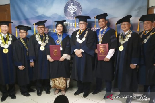 Rektor IPB: Kelulusan Kahiyang dan Bobby kabar gembira bagi Presiden