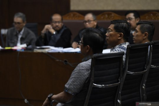 Sidang lanjutan kasus dugaan suap PT Krakatau Steel